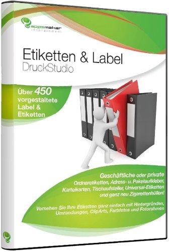 Preisvergleich Produktbild Etiketten & Label DruckStudio