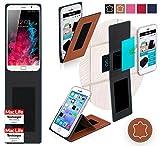 Hülle für UMi Touch Tasche Cover Case Bumper | Braun