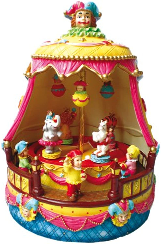 Musicbox Kingdom Circus Made of Polystone Decorative Item
