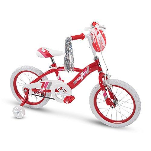"Huffy 16"" Glimmer Girls Bike, Cherry Red"