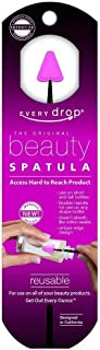 Every drop Beauty Spatula, Get Hard to Reach Beauty Products Out of Bottle, Washable and Reusable, 1 Spatula