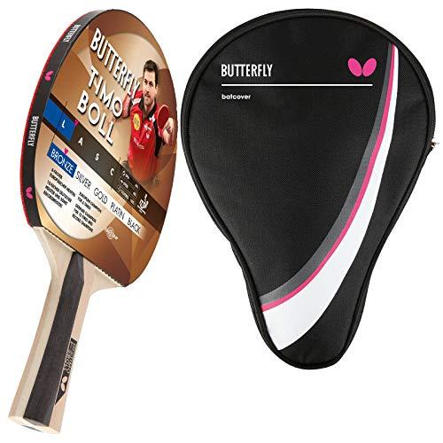 Butterfly Timo Boll Bronze Racchetta da ping pong + custodia Drive Case | Set di racchette da ping pong | Set hobby