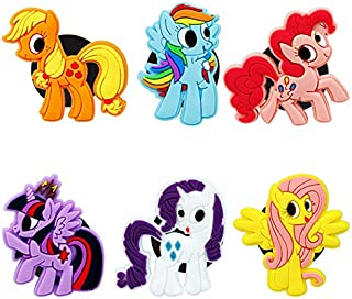 My Little Pony Refrigerator Magnets - Cute Fridge Magnets Kitchen Magnets Decorative Office Magnets Fun Magnets Whiteboard Dry Erase Board Magnets - Gift For Children and Workmate