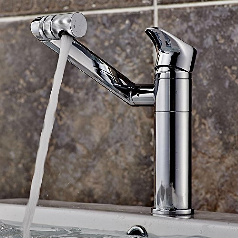 LHbox Warmes und Kaltes Wasser Waschbecken Einloch Becken Oberflche Schwenken Um 360 Grad, Um Den Hohen Standard der Gesundheit zu Drehen.