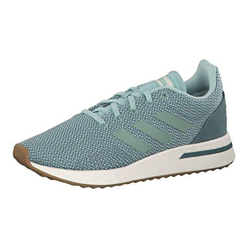 adidas Run70S, Zapatillas de Deporte Mujer, Verde (Vercen/Vercen/Vernat 000), 39 1/3 EU