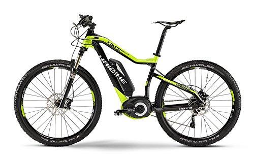 Haibike XDURO HardSeven RX 27.5' 400Wh 10-G XT 2015 schwarz/lime/grau Rh 40