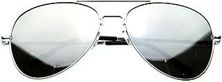 SWG EYEWEAR Aviator One Way Mirror Sunglasses w/ 400 UV