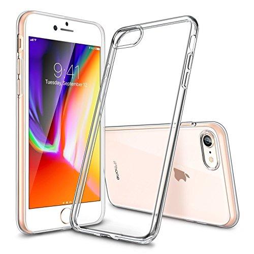 GNFD Cover Compatibile con iPhone 7-8 e iPhone SE2020 Silicone Trasparente Custodia Nuova Generazione Morbida Ultraslim Antiurto Resistente Protettiva Indistruttibile TPU Ultrasottile