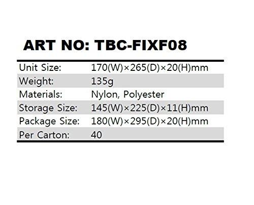 『Digio2 タブレットケース 8インチ 対応 ブラック TBC-FIXF08BK』の2枚目の画像