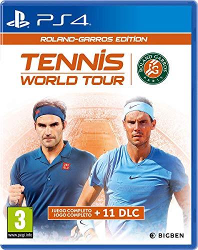 Tennis World Tour - Roland-Garros Edition [Versión Española] - PlayStation 4 [Edizione: Spagna]