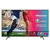 Hisense 70AE7010F, Smart TV LED Ultra HD 4K 70', HDR 10+, Dolby DTS, con, Alexa integrata, Tuner DVB-T2/S2...