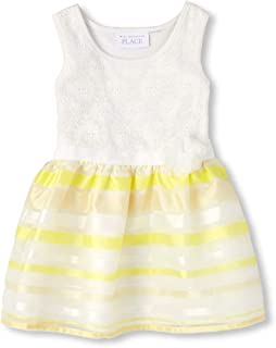 7dab5afb87d The Children s Place Baby Girls Special Occasion Printed Dress