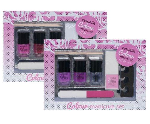 Treffina Casuelle cadeauset voor French Manicure in 1 doos van papier met venster