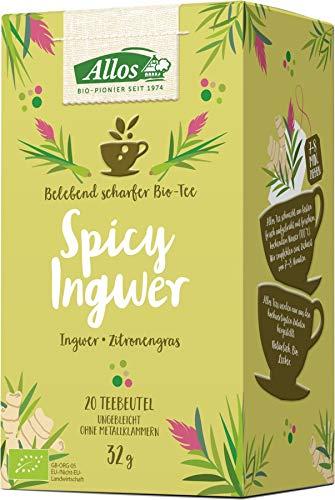 Allos Bio Spicy Ingwer Tee (6 x 20 Btl)