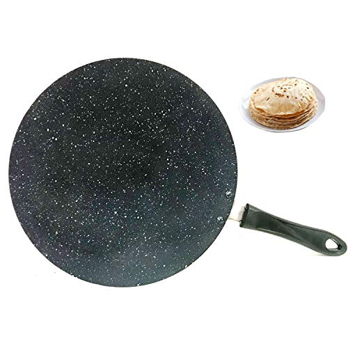 Chapati Tawa Tawa Roti Tawa Paratha Tawa - Plancha de cocina (aluminio,...