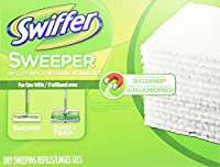 Swiffer Swiffer Sweeper Dry Cloth Refill, 80 Count by Swiffer