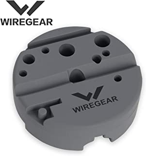 WIREGEAR Bench Block Punch Block Made of and Durable Material Ideal for M1911 Pistol and Other Handguns Uses for Pistol Gunsmithing and Maintenance