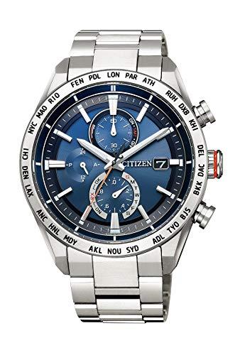 [シチズン] 腕時計 アテッサ Eco-Drive エコ・ドライブ電波時計 ダイレクトフライト ACT Line AT8181-63L メンズ シルバー