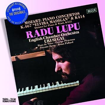 Mozart: Piano Concertos Nos.12 & 21 etc