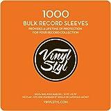 Vinyl Styl 12.75' X 12.75' 3 Mil Poly Sleeve 1000 Bulk Pack