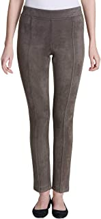 Women's Super Soft Stretch Faux Suede Pull On Pants