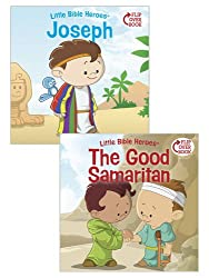 Joseph/The Good Samaritan Flip-Over Book (Little Bible HeroesTM)