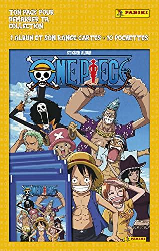One Piece - Pack de 10 Pochettes + Album