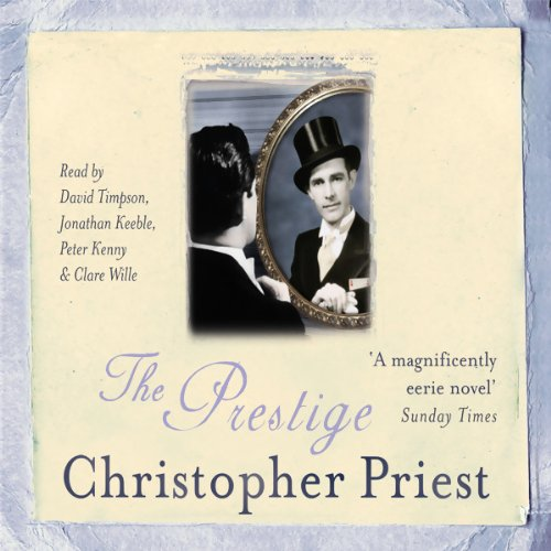 The Prestige audiobook cover art