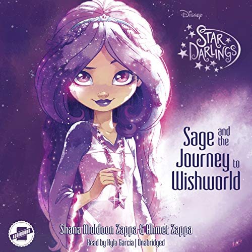 Sage and the Journey to Wishworld audiobook cover art