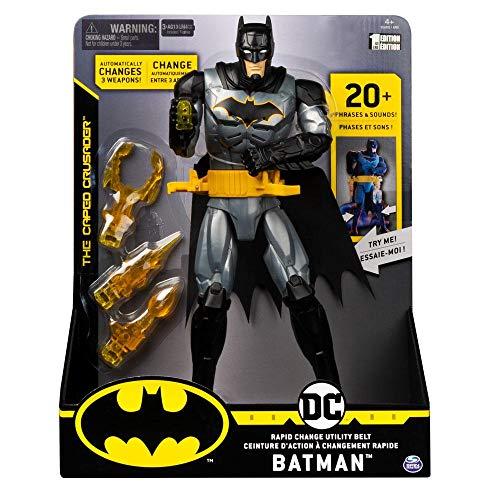 Boneco Batman com Luzes e Som, 30 cm, Sunny