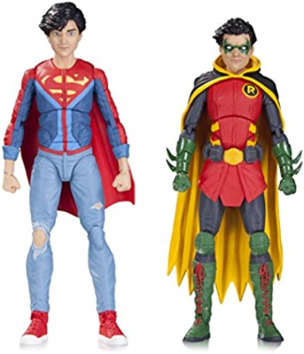 DC Comics mar170456  Icons Robin und Superboy Action Figure 2 ck
