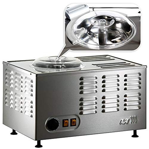 Gelatiera Professionale Musso Stella Chef - In Acciao Inox Con Dispositivo Sicurezza,...
