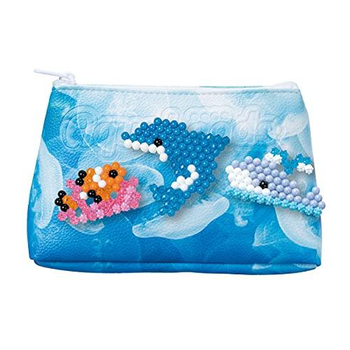 Aquabeads 31855 Designtäschchen Meereswelt-Bastelset, bunt