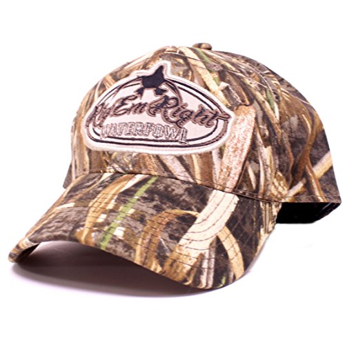 Rig'Em Right Waterfowl Camo Hat in Max-5 HD
