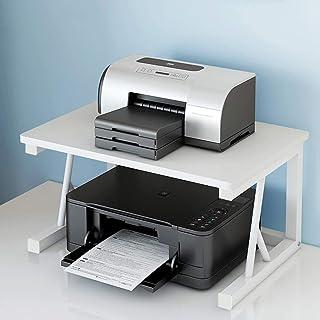 Sling Bookshelf,Desktop Bookshelf, Small Printer Shelf, Desktop Double-layer Copier Rack, Multifunctional Office Desk Host...