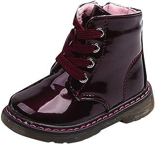 子供靴 Regoss (レジス) スノー ブーツ 英国スタイル マーティンブーツ キッズ ジュニア ブーツ 女の子 男の子 保暖 冬用ブーツ 雪遊び スキー 雪用ブーツ 子供靴 靴 シューズ リボン 毛皮の軽减な寒さの子供の雪のブーツ