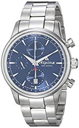 Review of Alpina Men's Alpiner Chronograph Analog Display Automatic Silver Watch