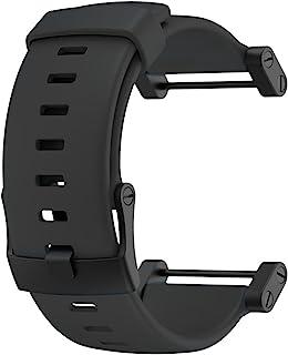 Suunto Core Accessory Strap Black One Size Rubber Band Black Buckle Adapter