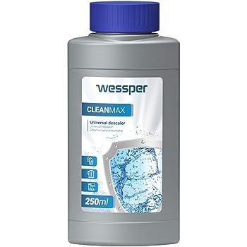 Wessper 250ml Descalcificador para cafetera - Compatible con Marcas Delonghi, Dolce Gusto, Nespresso, Senseo: Amazon.es: Hogar