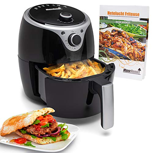 MaxxHome Friteuse sans Huile - Friteuse à air Chaud -...