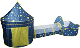 with Crawling Tunnel Ball Pool, Safety Playing Tent House, Children Tent, Multifunction Children's Private Space for Baby ...