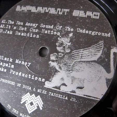 Experiment Zero - The Non Assay Sound Of The Underground - Black Lodge Recordings - BL004