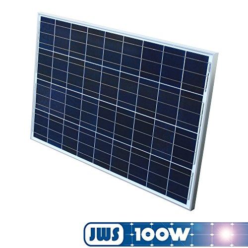 100Watt 12Volt Solarpanel Polykristallin