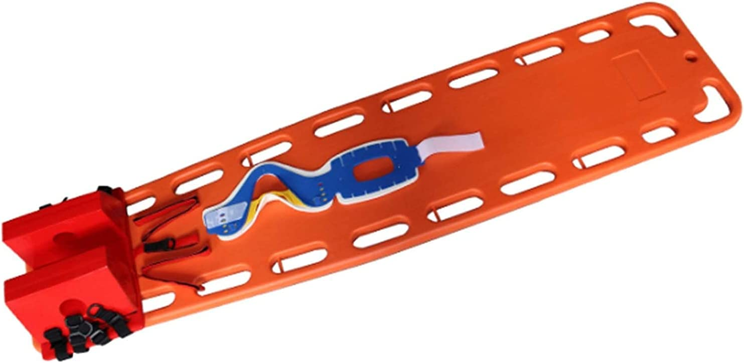 FDSAD Max 62% OFF Plastic Directly managed store Life Board Portable Back Stretcher Responder First