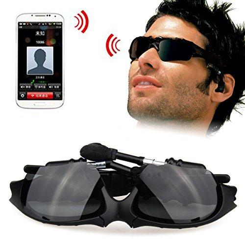 Gafas de Sol Universal Bluetooth Headset Soonhua Llamada Manos Libres Lentes Polarizadas Gafas Auricular Para Htc Uno M8, Google Nexus6, Samsunggalaxy S3.S4.S5.S6, Moto Droid Turbo