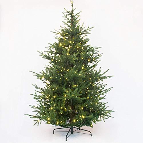 Topashe Christbaum Tanne Weihnachtsdeko,Luxus Weihnachtsdekoration Baum, PE Simulationsbaum-Keine Lichter_1.5m,PE Weihnachtsbaum Künstlich Tannenbaum