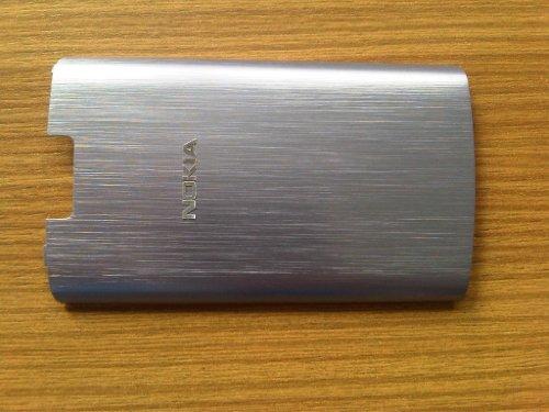 Original Nokia X3-02 Touch Akkufachdeckel Akkudeckel Cover lilac / lila