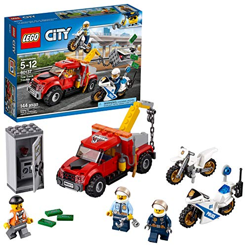 LEGO City Police Tow Truck Trouble 60137 Building Toy (144 Pieces) (Discontinued by Manufacturer)