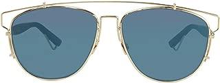 Christian Dior - DIOR TECHNOLOGIC, Geometric, metal, men, GOLD BLACK/BLUE MIRROR(RHL/2A), 57/14/145