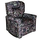 Dozydotes Contemporary Child Rocker Recliner - True Timber Conceal